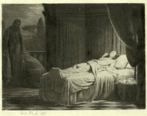 Carl Heinrich Bloch Raising of the Daughter of Jairus